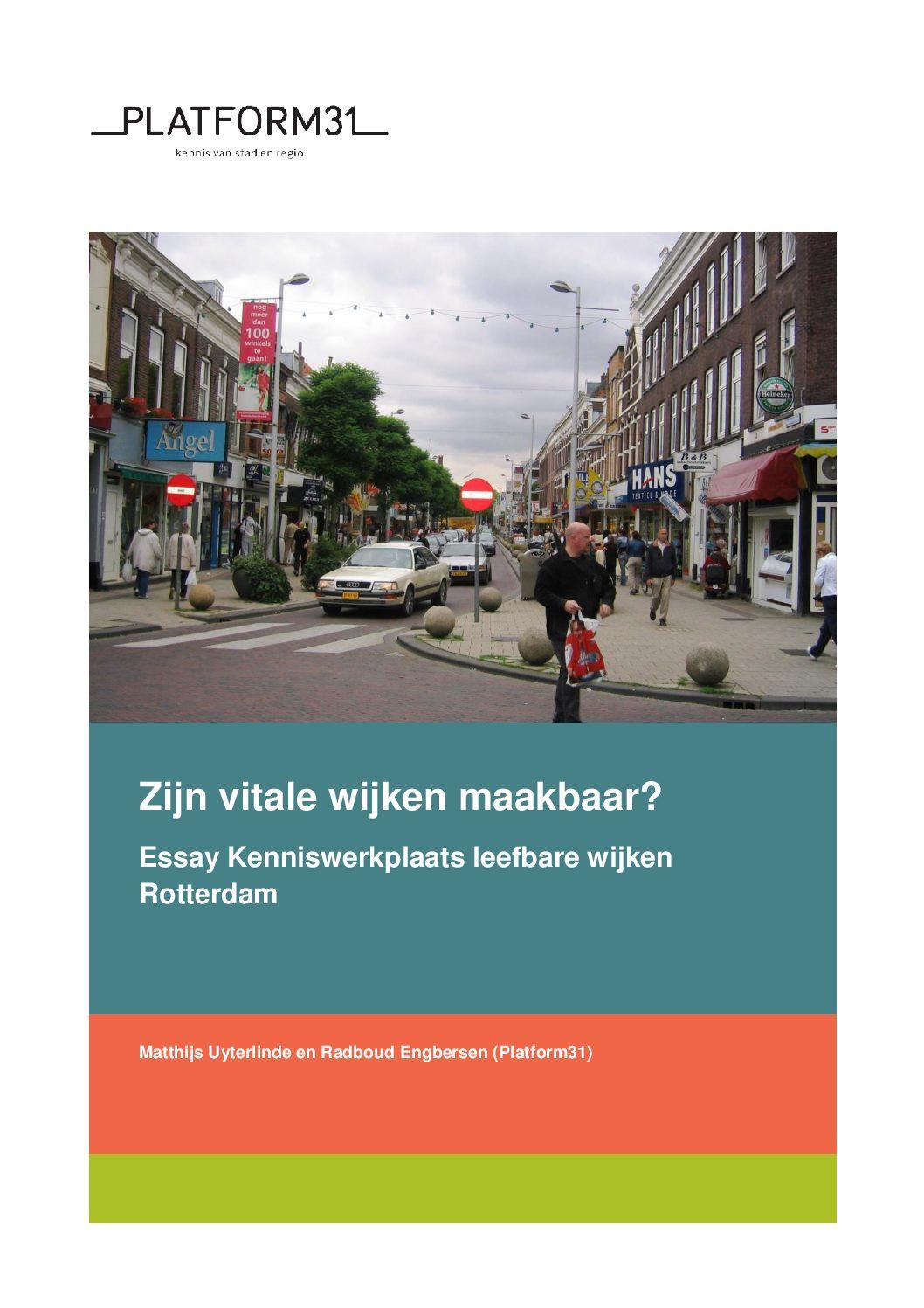 Zijn vitale wijken maakbaar?